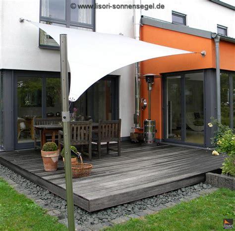 Windsegel Für Terrasse by Lisori Segelmasten F 252 R Sonnensegel Integrierte Kurbel