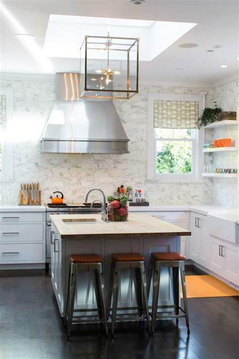 small butcher block kitchen island kitchen skylight transitional kitchen benjamin
