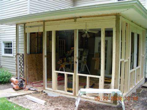 enclosing  porch   doesnt   hard