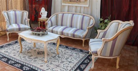 bergere canape salon style louis xvi