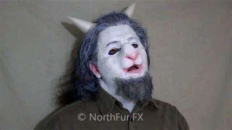 foam latex sheep goat nose prosthetic mask youtube