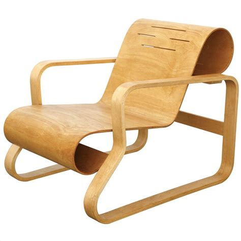Alvar Aalto Stuhl by Paimio Lounge Chair Nr 41 By Alvar Aalto Plywood Chair