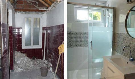 salle de bain avant apres avant apr 232 s r 233 novation d une salle de bain en longueur installer une