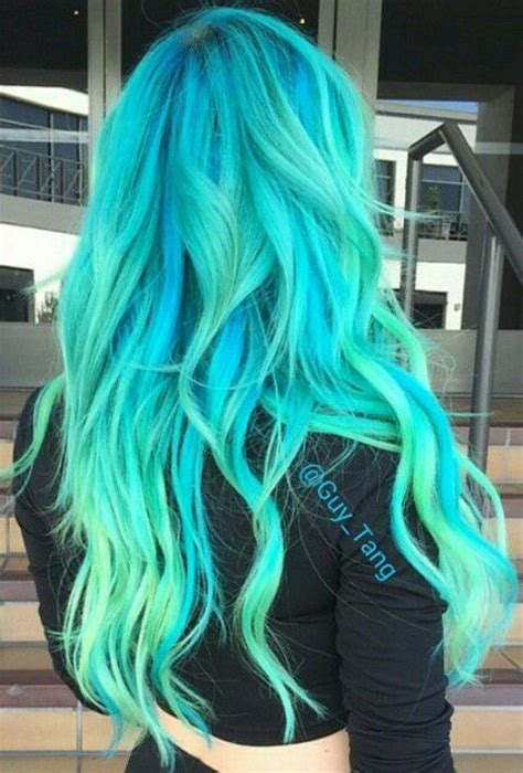 What Color To Dye Hair by Bright Color Dyed Hair By Tang Colorful Hair Hair