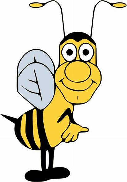 Bee Bumble Funny Clipart Clip Stinger Cliparts
