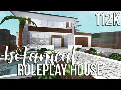 bloxburg sims house plans house  nature modern house exterior