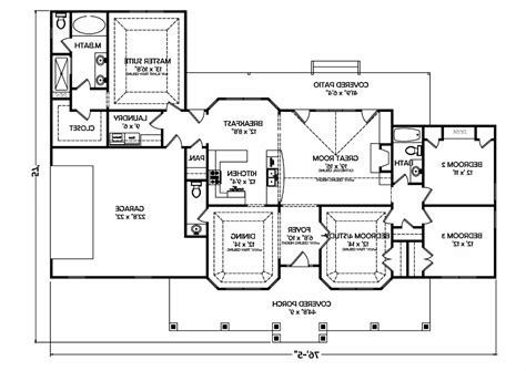 simple 4 bedroom ranch house plans fresh bedrooms decor