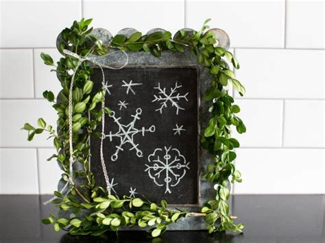 decorating  fresh greenery hgtv