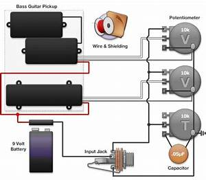 Peavey Bass Guitar Wiring Diagram