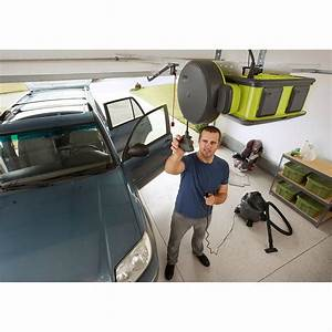 Garage Door Opener Cord Reel Ryobi Retractable Wire