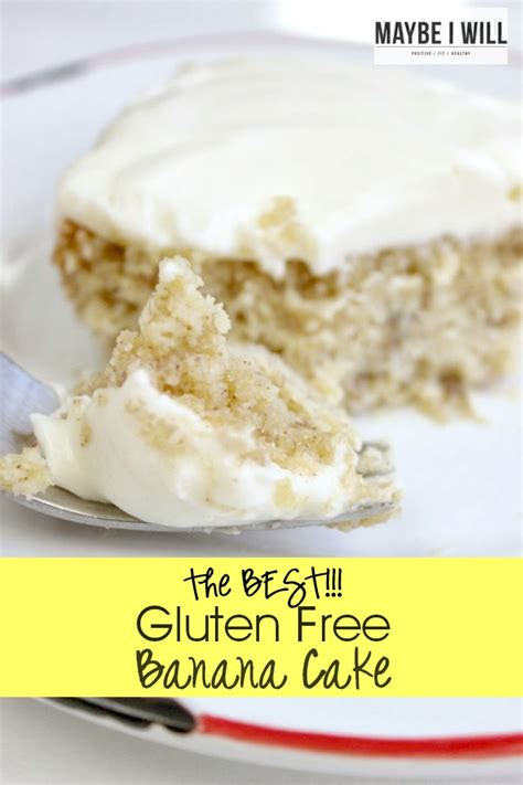 The Best Gluten Free Banana Cake Recipe