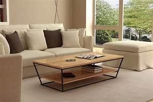 Table Basse De Salon : table basse salon design en image ~ Teatrodelosmanantiales.com Idées de Décoration
