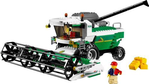 Lego Technic Combine by 7636 1 Combine Harvester Brickset Lego Set Guide And