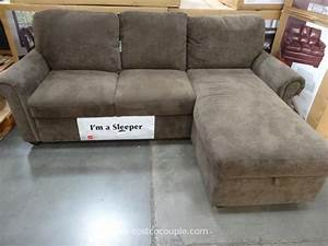 Pulaski newton chaise sofa bed for Pulaski sofa bed