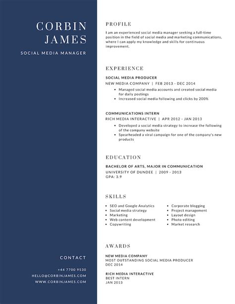 Resume Design by Free Resume Builder Design A Custom Resume In