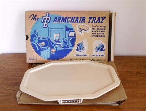 Armchair Tray Or Sofa Tray By Mb Plastics With Original Box
