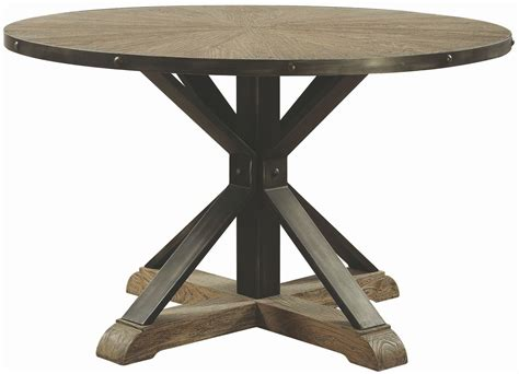 driftwood round dining table tobin driftwood grey round dining table 107100 coaster