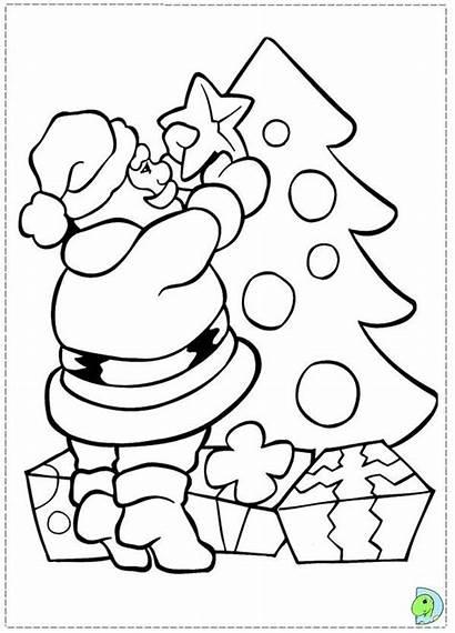 Coloring Claus Santa Dinokids Close