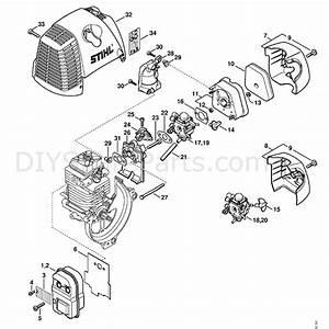 Stihl Ht 130 Z Pole Pruner  Ht130z  Parts Diagram  Muffler