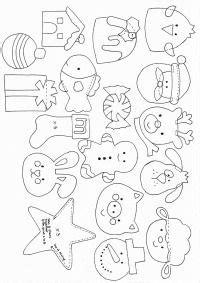 1000+ Ideas About Felt Ornaments Patterns On Pinterest