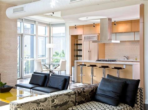 living room style kitchens hgtv