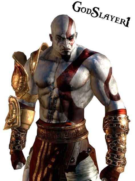 Kratos God Of War Render By Godslayer1 On Deviantart