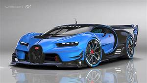 Se presentó el show car Bugatti Vision Gran Turismo en el