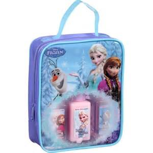 disney frozen winter berry scented travel bath set 4 pc