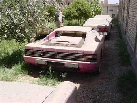 Abandoned Luxury Cars  Cars  Pinterest Ferrari