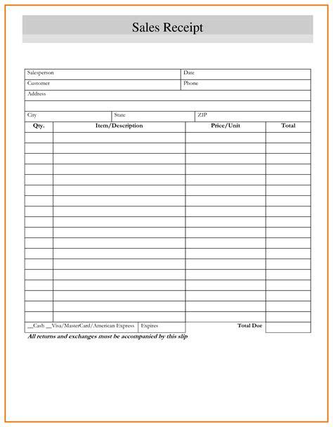 blank receipt template mughals