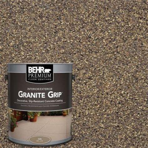 behr rubberized deck coating behr premium 1 gal gg 14 autumn mountain granite grip