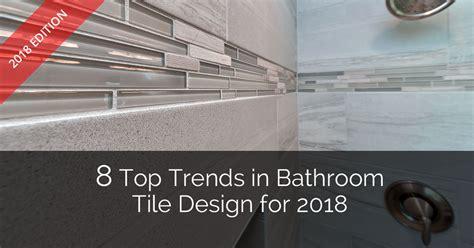glass subway tile bathroom ideas 8 top trends in bathroom tile design for 2018 home