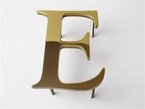 metal letters With brass letters for signs