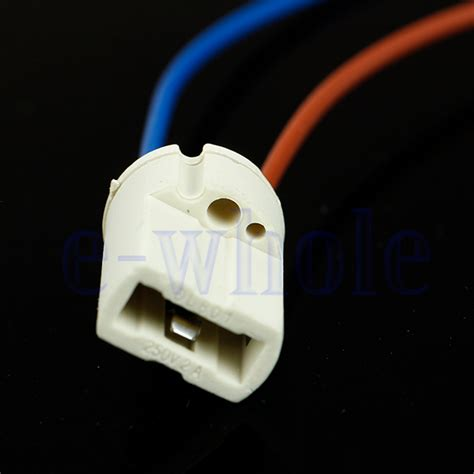 g9 ceramic l holder g9 base ceramic l holder socket cable halogen led bulb