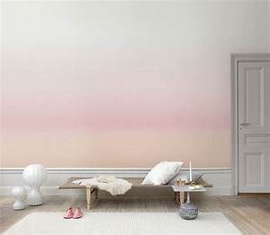 ombre wallpaper inspired by swedish landscapes at dusk and With balkon teppich mit tapete mint