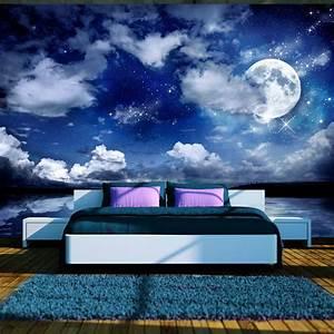 Tapete Mit Eigenem Foto : fototapete himmel vlies tapeten xxl wandbilder nacht mond sterne 10110903 27 ebay ~ Sanjose-hotels-ca.com Haus und Dekorationen
