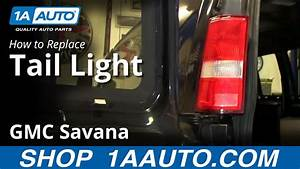 How To Install Change Taillight And Bulbs 1997