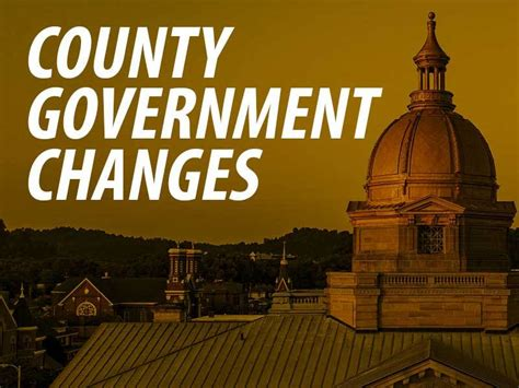 County Government Changes – Lawrence County, Ohio