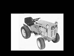 Gilson Montgomery Ward Tractor Operation Part Manuals