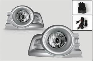 For Ford Ranger 2009 2011 Fog Light With Silver Cover Halogen Fog Lamp Bulb H11 12v 55w With
