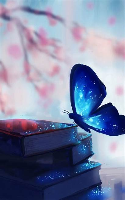 Mobile Butterfly Fantasy Wallpapers Wall Mobiles Romantic