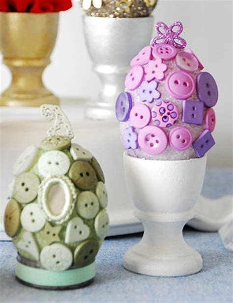easter egg decorations craft easter eggs in retro style recycled crafts easter eggs decoration ideas