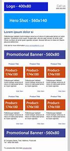 free ecommerce html email template duane blake With yahoo ecommerce templates