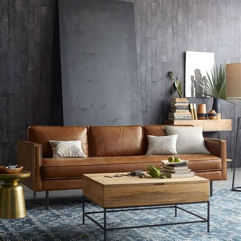 canapé 2 places cuir center best 25 leather sofas ideas on leather