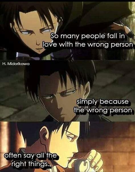 shingeki  kyojin corporal levi life quote manga anime