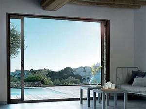 porte fenetre ou baie vitree wasuk With porte de garage de plus baie vitrée galandage