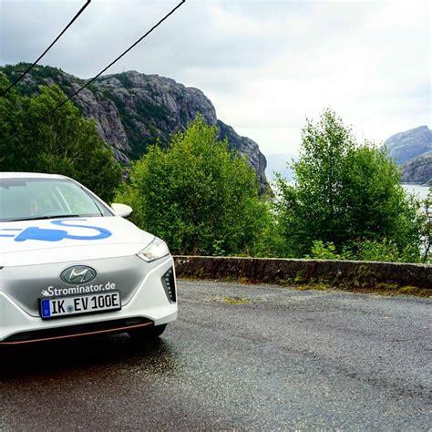 auto mieten norwegen strominator hyundai ioniq elektroautos einfach mieten