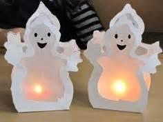 Windlicht Falten Transparentpapier : die besten 25 halloween basteln mit kindern ideen auf ~ Lizthompson.info Haus und Dekorationen