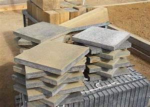 Kann Beton Terrassenplatten : terrassenplatten oder pflasterbelag steinterrassen bauen ~ Articles-book.com Haus und Dekorationen