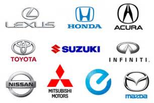 Japanese Car Brands Logos and Names